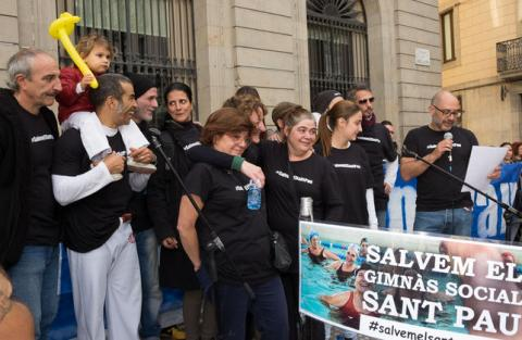 #SalvemelSantPau mobilized about 40 entities and hundreds of neighbors.